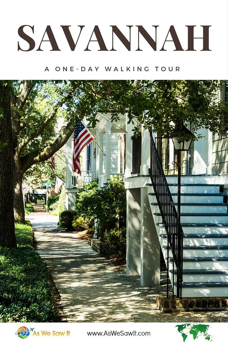 Walking Tours Of Savannah One Day In Savannah Squares And Walking Tours Part 1 Vacation