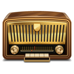 Vintage Radio 10 Free Icons Icon Search Engine Radio Icon Vintage Radio Radio
