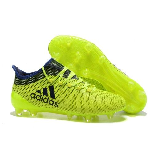 Cheap Adidas X FG Tpu Yellow Black Blue Football Boots Soccer Shoes Online