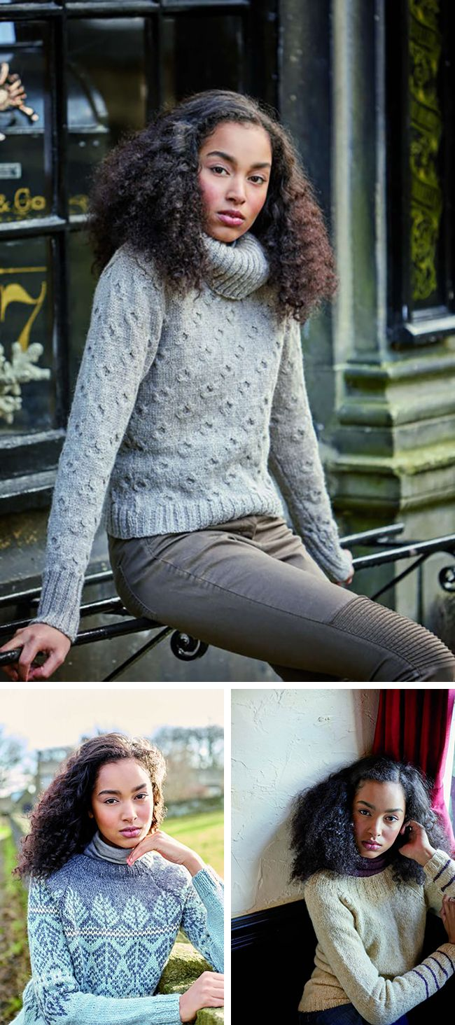 New Favorites from Rowan 62 Sweaters, Sweater knitting