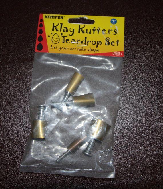 Plunge style Teardrop cutter by Kemper Klay by LindasArtSpot, $11.99