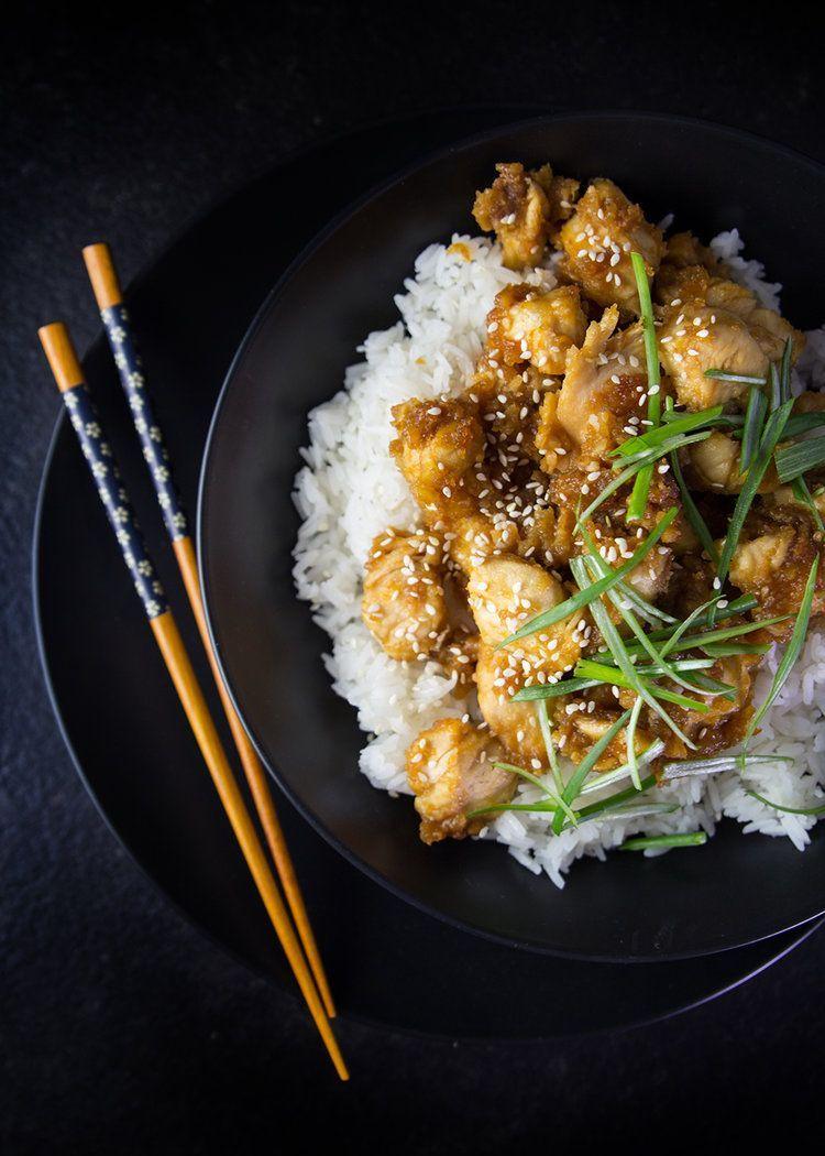 Gluten-Free Chinese Orange Chicken #chineseorangechicken Chinese Orange Chicken #chineseorangechicken