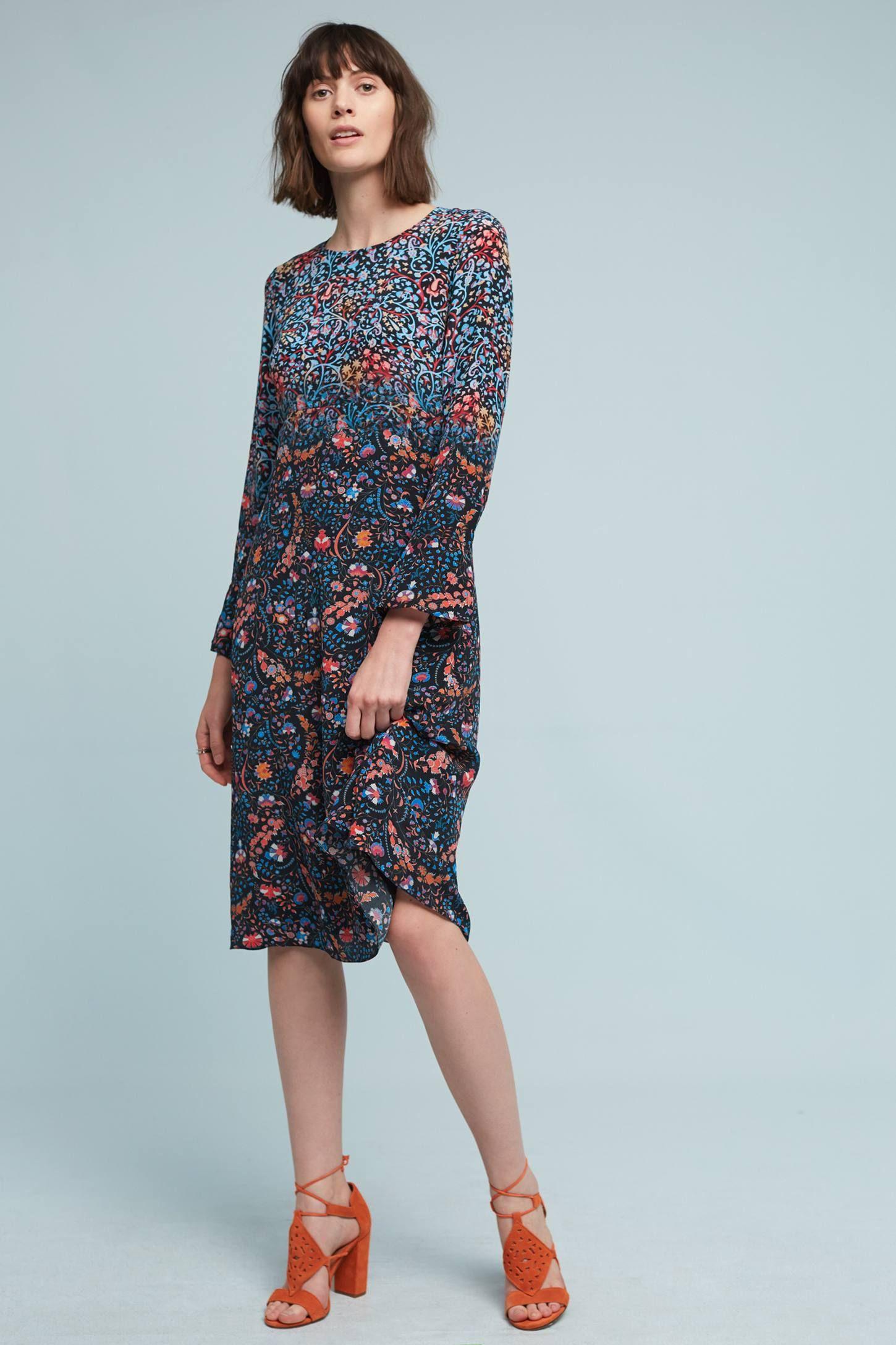 52e548307377f Summerset Silk Peasant Dress | WHAT I WANT IN MY CLOSET | Fashion ...