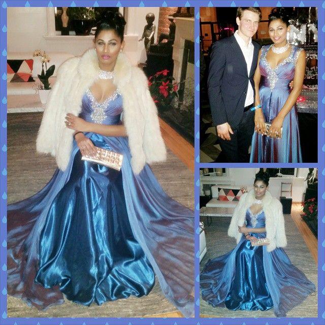 Had such a great time last night at the #Ball #Royalblue #bluegown #diamonds #foxfurcoat #elegant #poise #sophisticated #Cinderella #princessjasmine #ladyspencer #princesspocahontas #downtown #NYU #NYC #upscale #belloftheball #formal #Gala