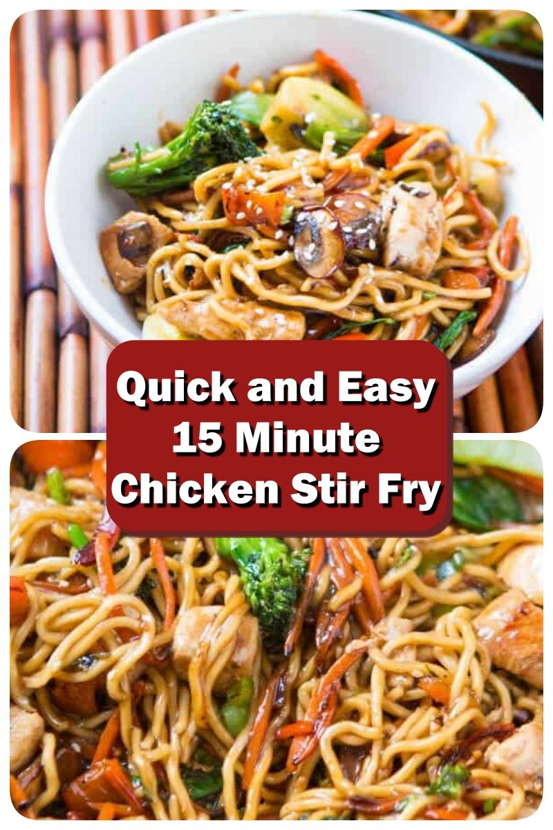 Photo of Quick and Easy 15 Minute Chicken Stir Fry – Only got 15 minutes to whip together…