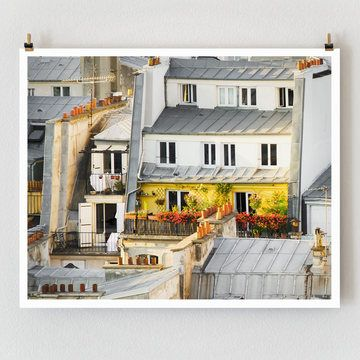 Rooftop Garden 10.5x8.5 now featured on Fab.