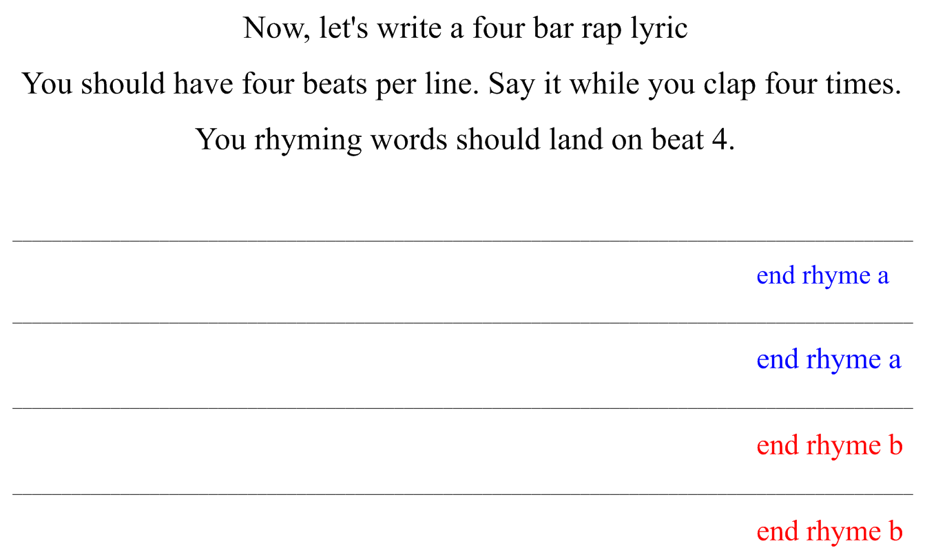 Writing a rap song template google search writing for Song structure template