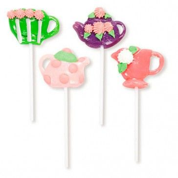Girly Tea Party Lollipops (1 dz)