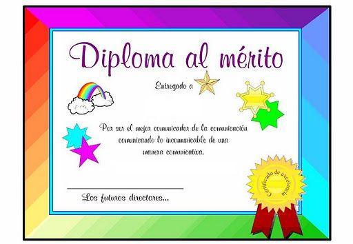 diplomas infantiles deportivos imagui