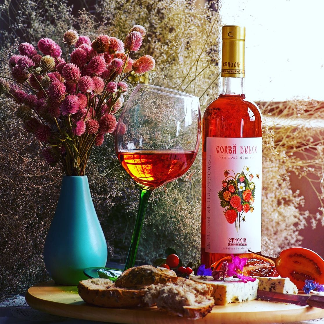 Rose Wine From Moldova In 2020 Rose Wine Wine Bottle Dry Rose Wine