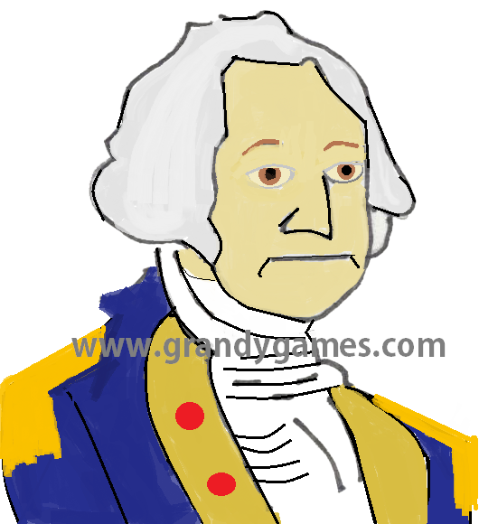 Who led the US army during the War for Independence?  Who was the first President of the United States? www.grandygames.com