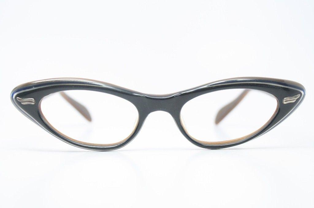 vintage 1950's cat eye glasses - Cat eye glasses - Vintage eyeglasses