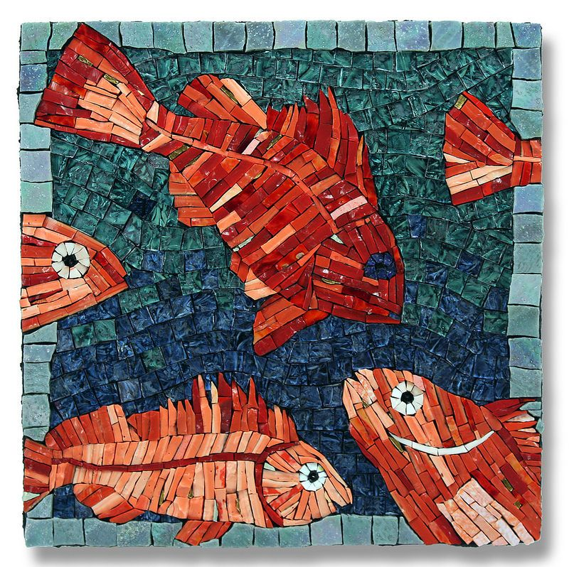 'One fish, two fish, orange fish, new fish' Artist: Debra Hagen