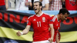 Laga Ke 102 Bagi Inggris Vs Wales Gareth Bale Inggris Wales