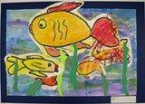 Artsonia Art Exhibit :: Kindergartner Ocean Mixed Media Scenes