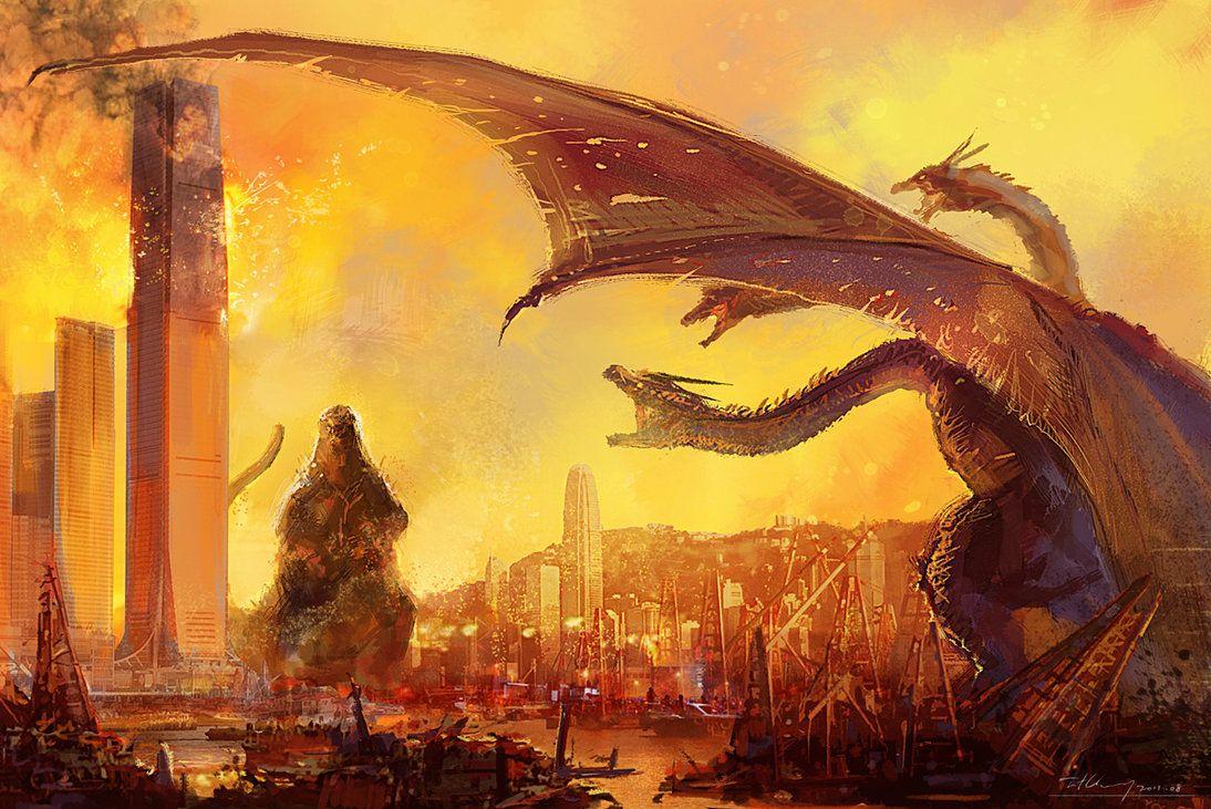 G-Kowloon war by cheungchungtat on deviantART   Godzilla/Gamera/King ...