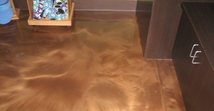 Epoxy-Bodenbeschichtung Brown Epoxy Floor Concrete Floors Innovative Concrete De... - Epoxy Ideas -