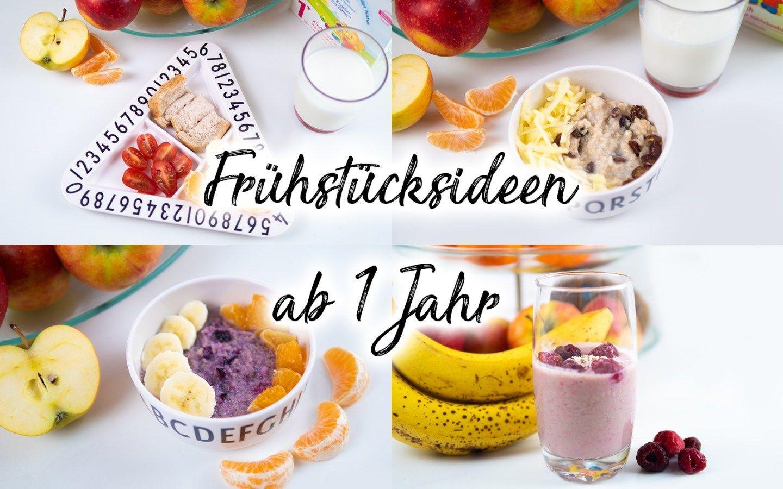 Frühstücksideen für Kleinkinder – gesundes Frühstück ab 1 Jahr — Mama Kreativ – Carey&CleanEatingS