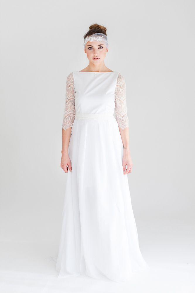 "Couture Bridal Dress ""Tea"" Sina Fischer"