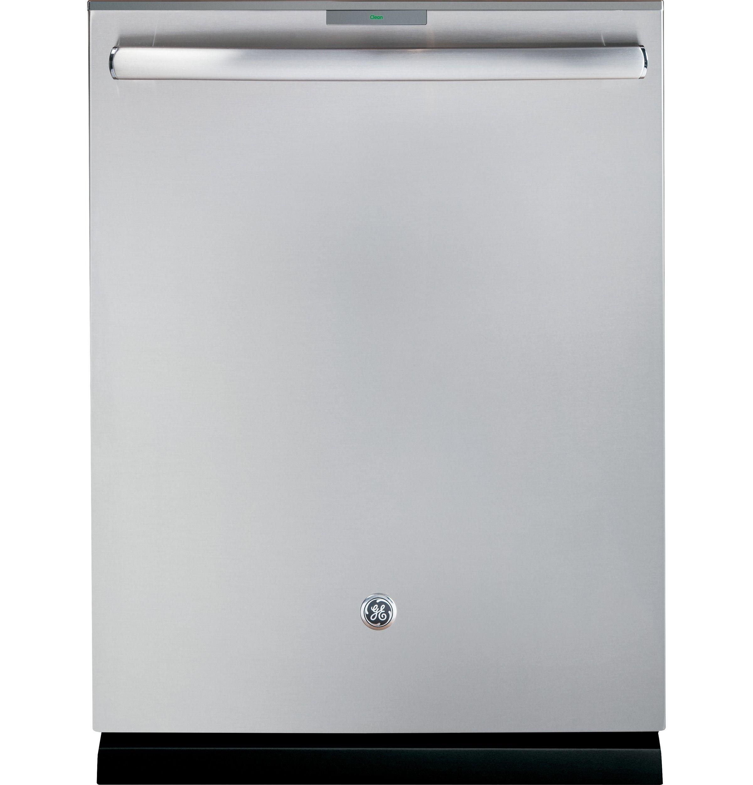 Ge Profile Series Stainless Steel Interior Dishwasher With Hidden Controls Pdt750ssfss Steel Tub Built In Dishwasher Ge Profile Dishwasher