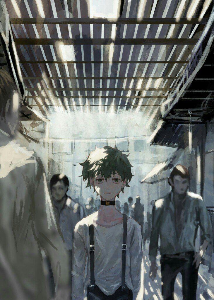Boku no Hero Academia || Midoriya Izuku (villan version, I think)