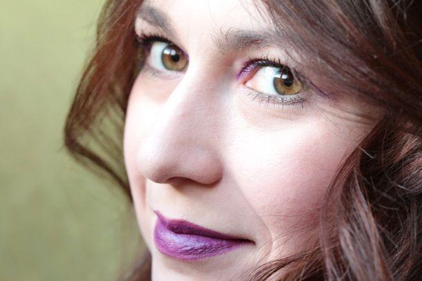 Фиолетовые губы