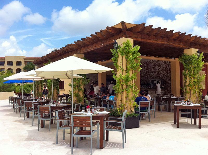 The Hacienda Grill has some GREAT food, we had a beef with blue cheese dish that was divine!