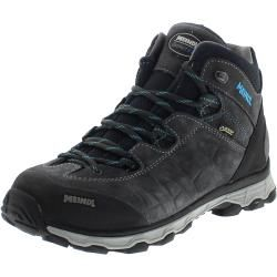 Photo of Meindl 5291-31 Asti Lady Mid Gtx Anthracite Turquoise Women Hiking Shoes – Gray Meindl