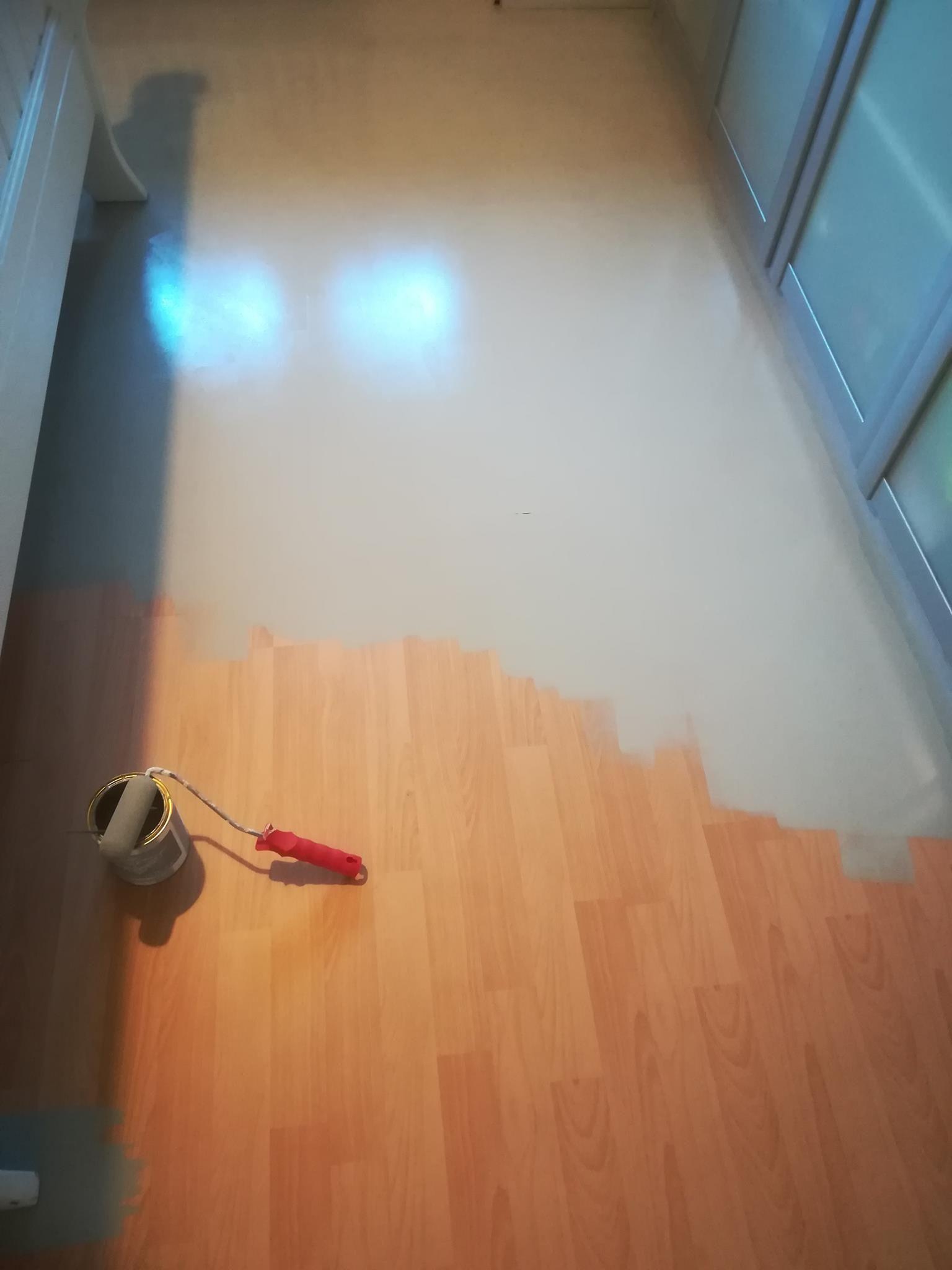 Relativ Fußboden streichen mit Kreidefarbe | Other | Laminat streichen YZ54
