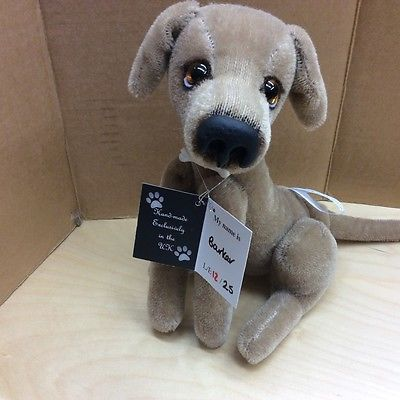 #Kaycee bears limited #edition #mohair dog barker new for 2015,  View more on the LINK: 	http://www.zeppy.io/product/gb/2/121777594696/