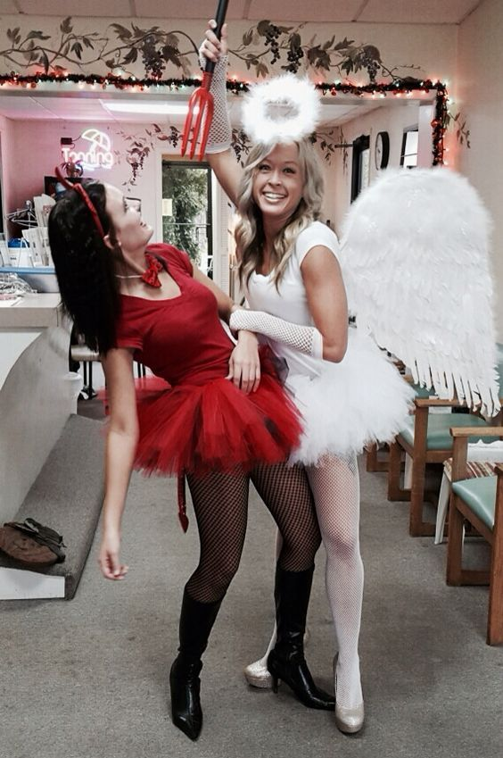 Top 18 Girl Best Friend Halloween Costume Design \u2013 Unique  Easy - different halloween costume ideas