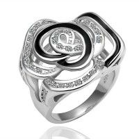 Flower Intertwined Ring