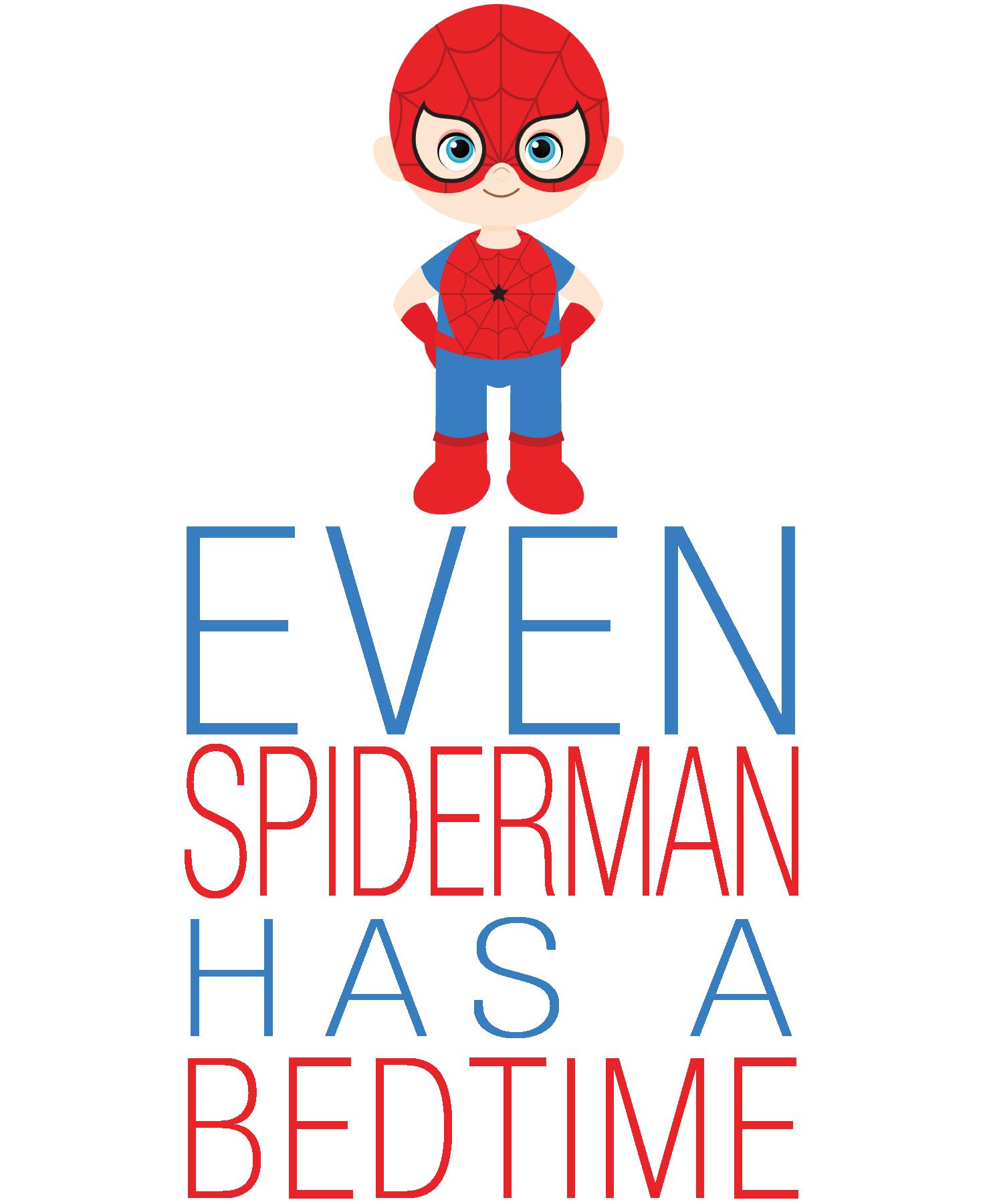 even spiderman has a bedtime Google Search Bedtime