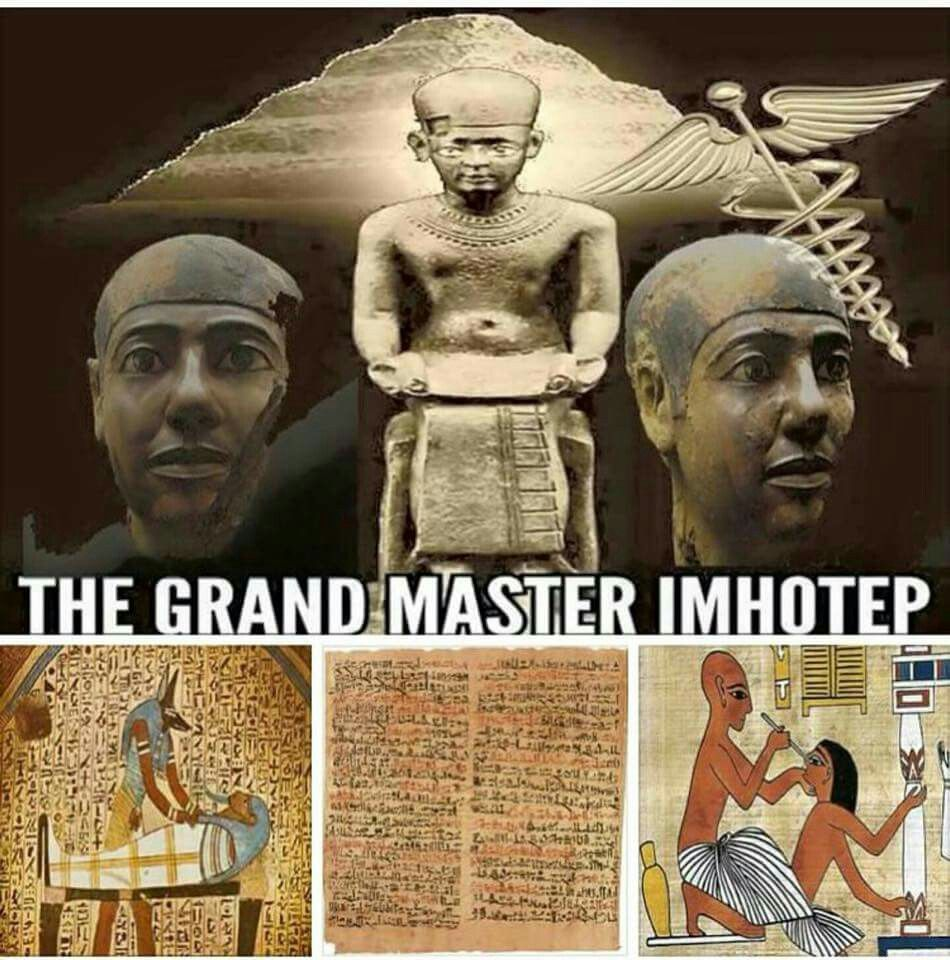 Father of Medicine | KMT | Kemet egypt, Black history books