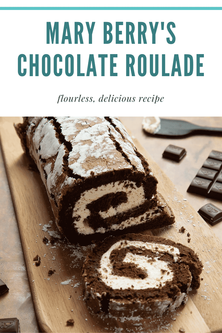 Mary Berry's Chocolate Roulade (no flour, Great Br