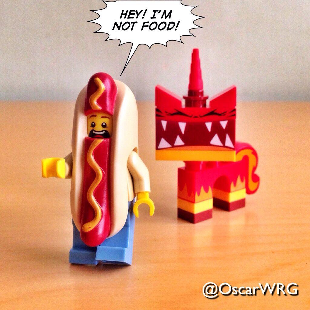 #LEGO #AngryKitty #HotDogMan #HotDog #UniKitty #iLoveUniKitty #SuperAngryKitty @lego_group @lego