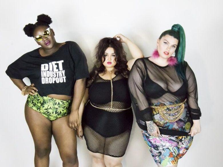 Chubby cartwheels la marque am ricaine de pret porter cible les femmes rondes qui s 39 assument - Robes americaines pret a porter ...