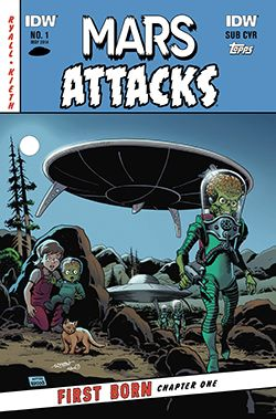 Review: Mars Attacks: First Born #1