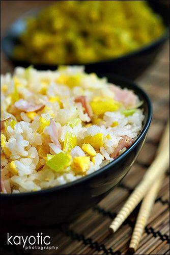 Chinese Fried Rice diferente y muuuy sencillo