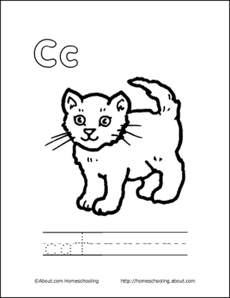 Free Printable Letter C Books - 3d House Drawing •