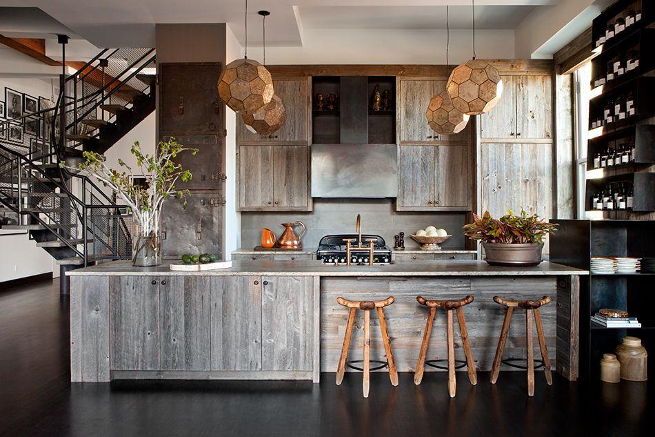 James Huniford\u0027s Spaces Have a Rough-Refined Sensibility Interiors