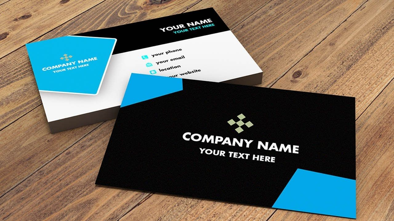How To Make Bussness Card Design Photoshop Cs6 Episode 1 Business Card Tutorial Printing Business Cards Business Card Template