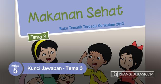 Kunci Jawaban Tematik Tema 3 Kelas 5