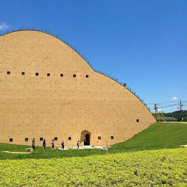 モザイクタイルミュージアム Jun 2016 Architecture Museum Terunobufujimori Gifu 建築 美術館 モザイクタイルミュージアム 藤森照信 岐阜 多治見 Instagram Instagram Photo Photo
