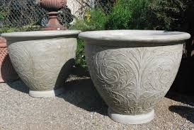 how to make a concrete planter mold - Google Search | flower