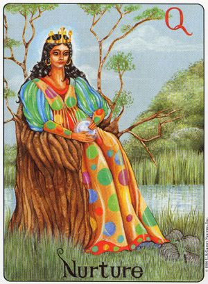 Image result for queen of pentacles gill tarot