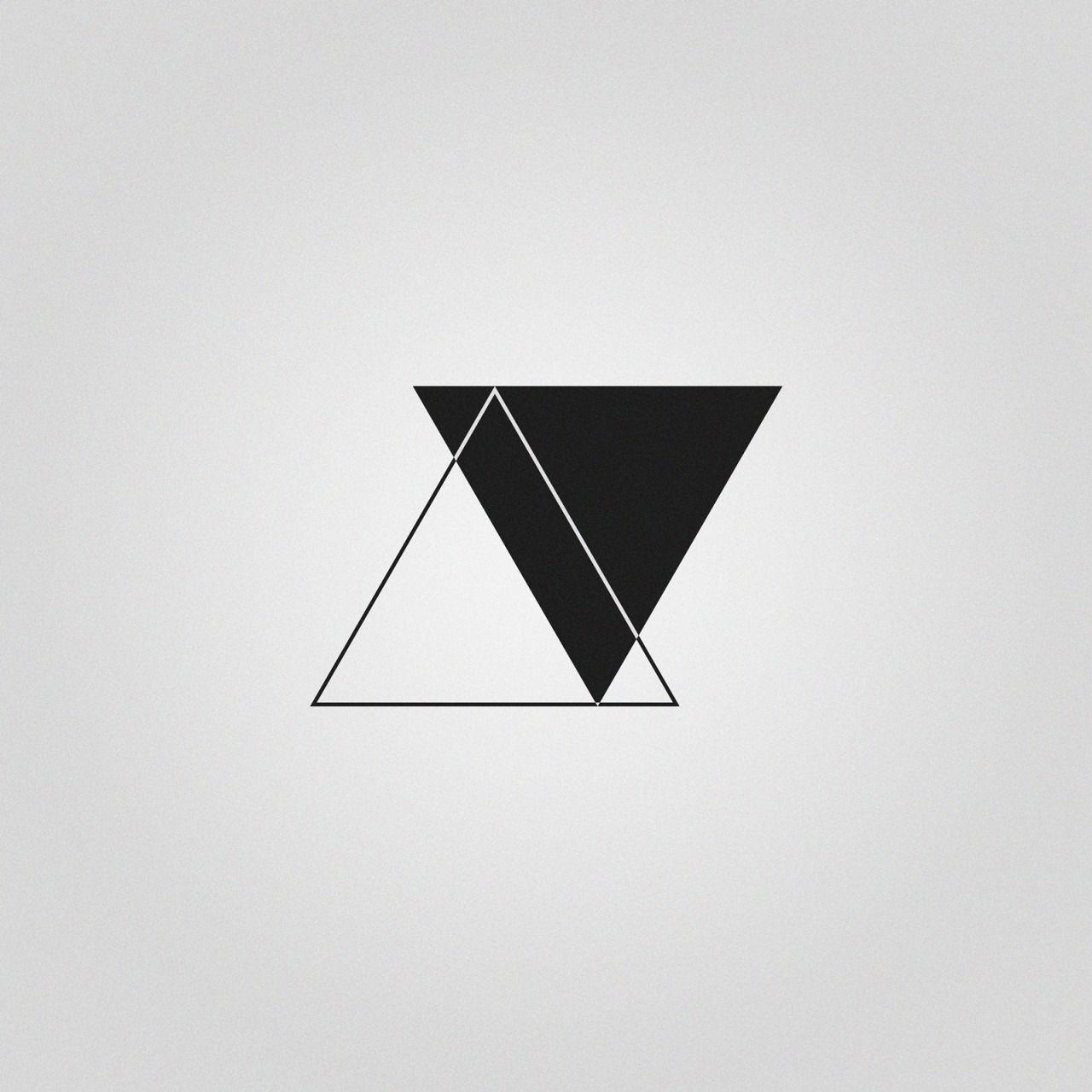 Tatto … … Tatto de irmãs, Tatuagem triângulo, Triangulo