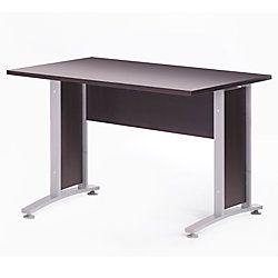 Tvilum Scanbirk Prima 4 Foot Desk With Metal Legs 29 1 4