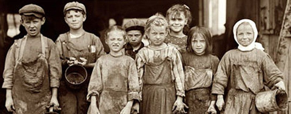 Victorian Child Labor was the norm in the 1800's. There