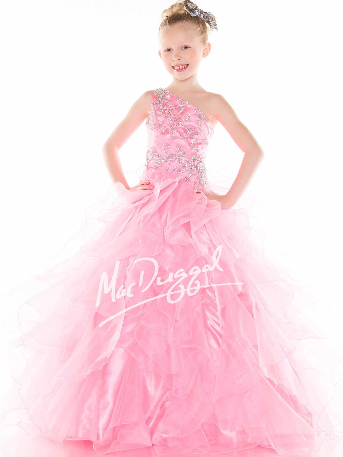 Make this beautiful Mac Duggal Sugar pageant dress perfect for your ...